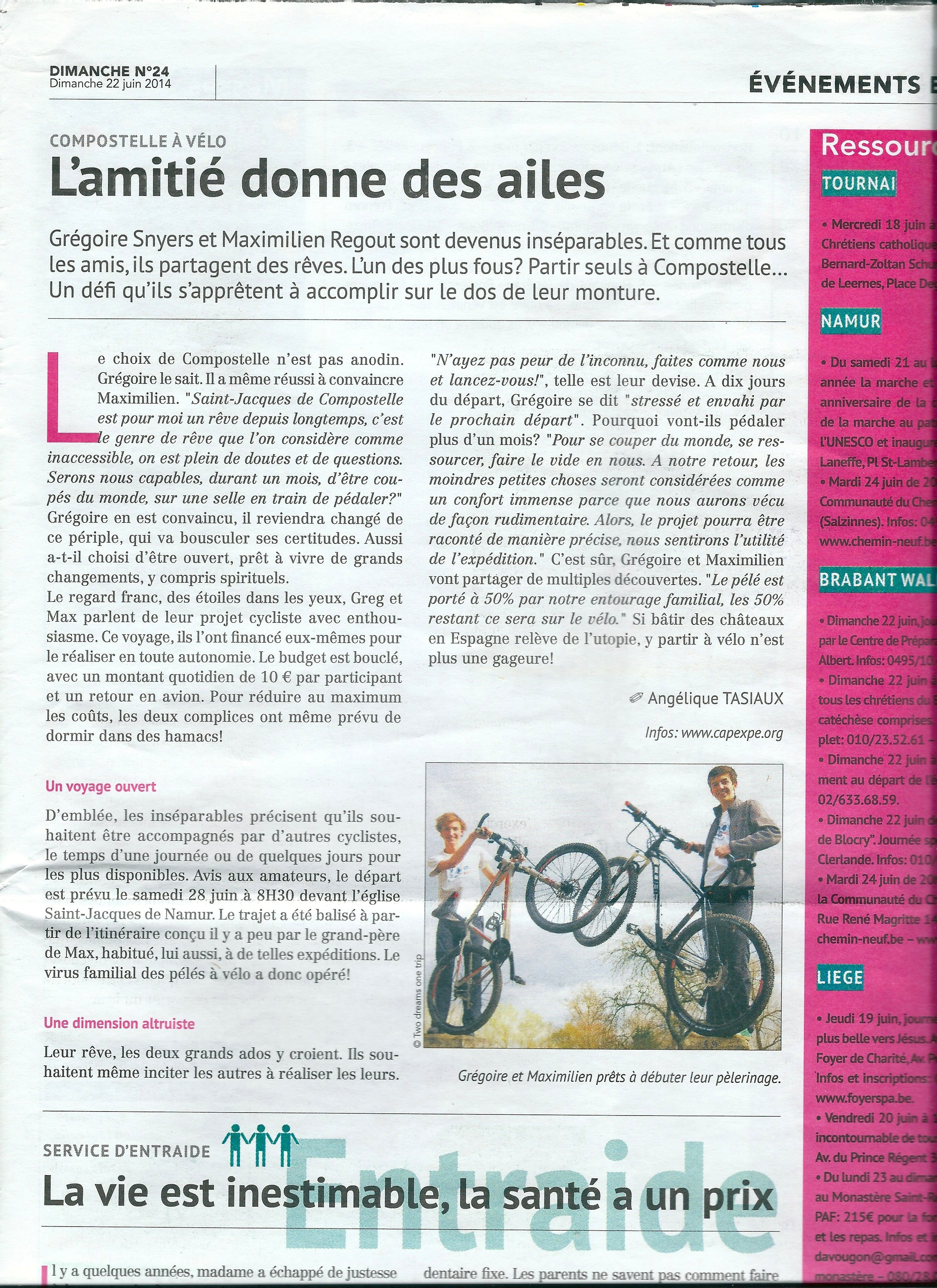 Article Dimanche