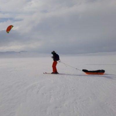 Logo de l'Expé Norvège Hardangervidda Kite Ski