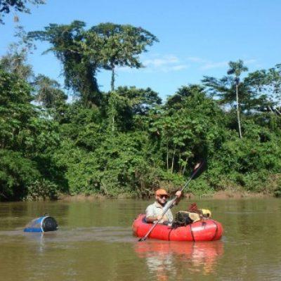Logo de l'Expé Amazonie équatorienne en packraft