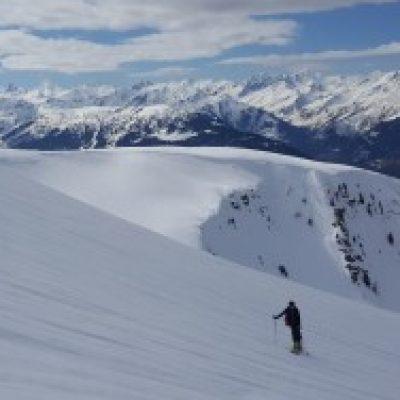 Logo de l'Expé Martine fait du ski de rando