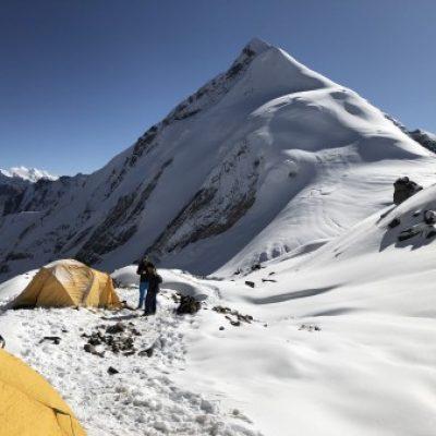 Logo de l'Expé Enchaînement de trekking peaks dans le Khumbu en couple pour passer la trentaine :)