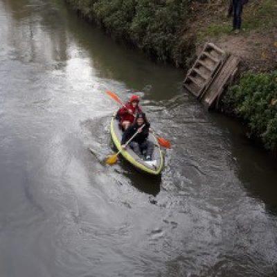 Logo de l'Expé Kayak sur la Dyle