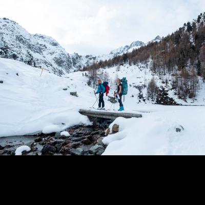 Logo de l'Expé Une petite remise en jambe en Valais