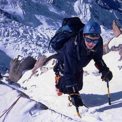 Logo de l'Expé Chamonix ski de pentes raides 2003