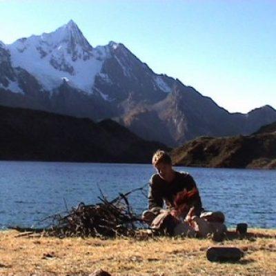 Logo de l'Expé Trip à vélo dans les Andes 2003