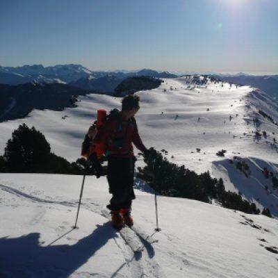 Logo de l'Expé Traversée du Vercors en ski nordique