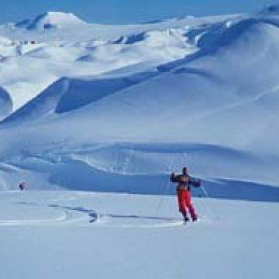Logo de l'Expé Traversée de l'Islande à ski